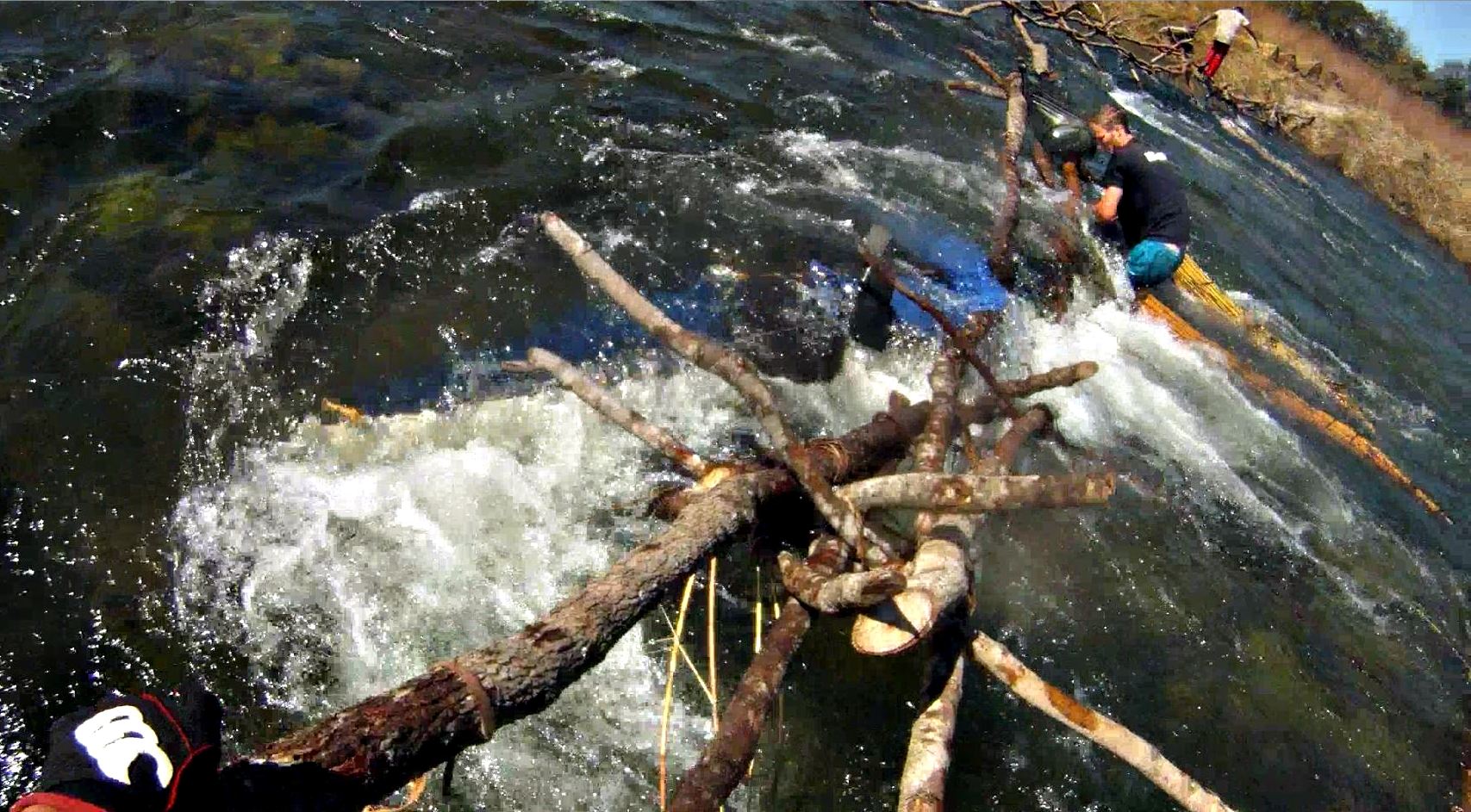 Kayak sinking